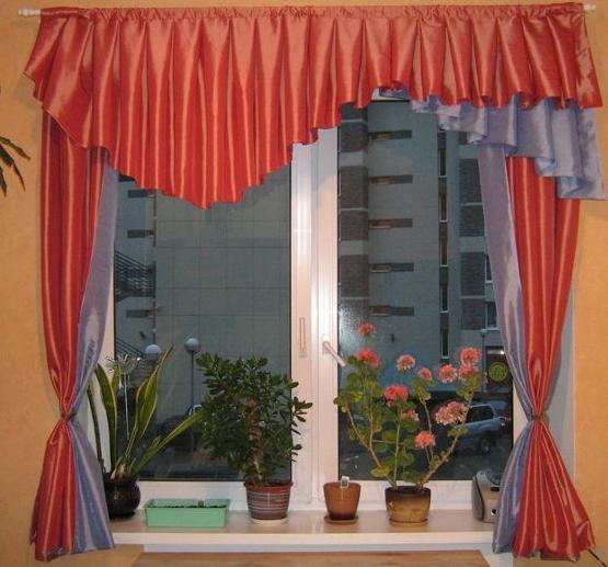 Дизайн штор на эркерное окно